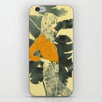 plants iPhone & iPod Skins featuring Plants by Magdalena Pankiewicz