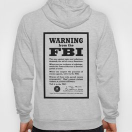 Spies and Saboteurs Hoody
