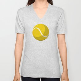 BALLS / Tennis (Clay Court) Unisex V-Neck
