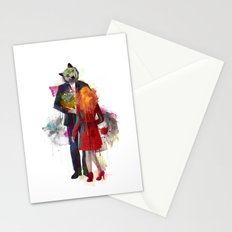 Red Riding, I Am Not Your Wolf Stationery Cards