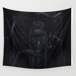 DARK TEMPLE - Du noir naît la lumière Wall Tapestry