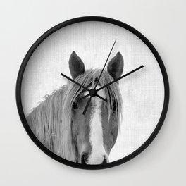 Horse Portrait Wall Clock