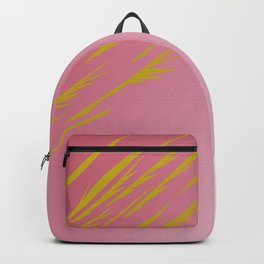 gold lines on pinks Backpack
