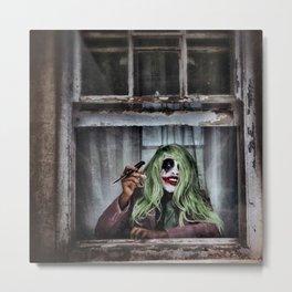 Joker Cosplay 4 Metal Print