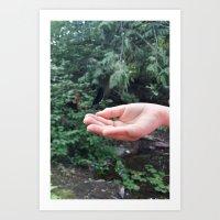 Fingertip Art Print