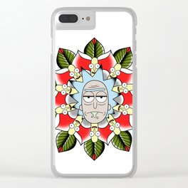 Mandala Tattoo Clear iPhone Case