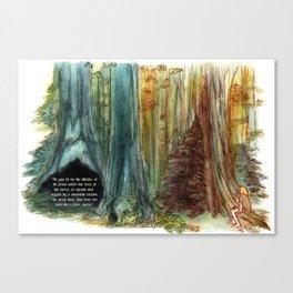 Tree Affinity Canvas Print