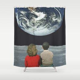 Futures Past Shower Curtain
