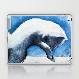 Animal - Antoine the Artic Fox - by LiliFlore Laptop & iPad Skin