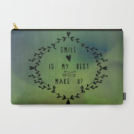 Smile is my best make up Carry-All Pouch