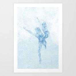 Whisper dance Art Print