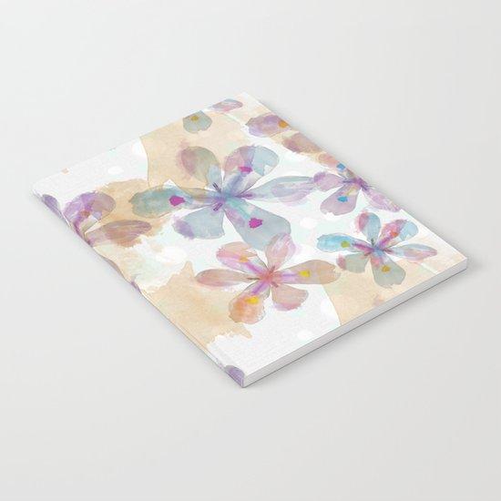 Soft Flower Notebook