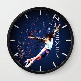 Fanfare for Nureyev Wall Clock