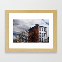Brooklyn Sky High Framed Art Print
