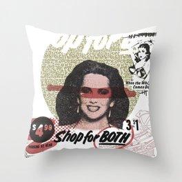 Shop For Both Throw Pillow