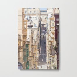 Saint Paul Street in Metal Print