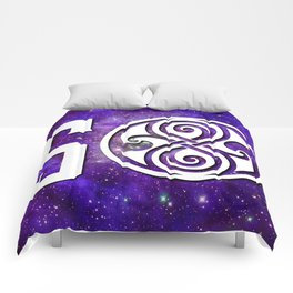50th anniversary Doctor Who 2 Comforters
