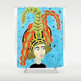 16th Century English Taffeta Shower Curtain