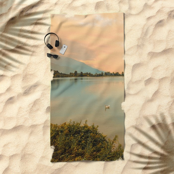 Autumn Glance Beach Towel