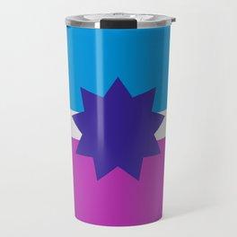 Polyamory Flag Travel Mug