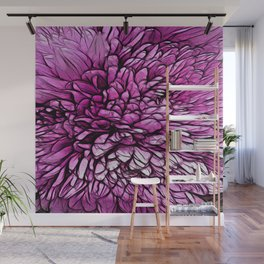:: Pink Flare :: Wall Mural