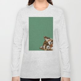 Sneaky Cat Long Sleeve T-shirt