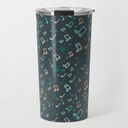 Music pattern Travel Mug