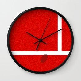 """IN"" – Hawk-Eye - Sand Wall Clock"
