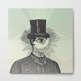 Eyeliner Metal Print