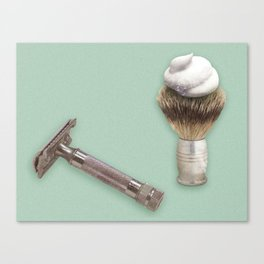 A Manly Ritual Canvas Print