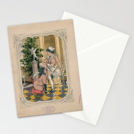 A Maid and Her Lady Stationery Cards