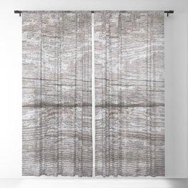 Piece of Driftwood #decor #society6 #buyart Sheer Curtain