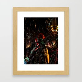 Mass Effect 3 - Shepard Told Us They Were Coming Framed Art Print
