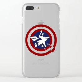 Torn Star Clear iPhone Case