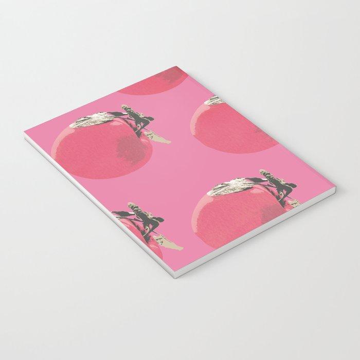Apple pattern Notebook