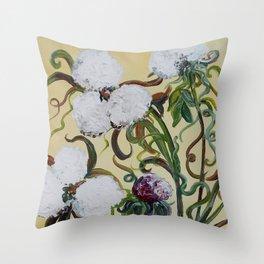Cotton Squared Throw Pillow