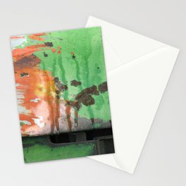 Deere in Rain Stationery Cards