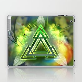 Sacred Geometry - Equilateral Triangle 05 Laptop & iPad Skin