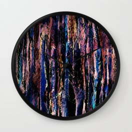 AbstractLines Wall Clock