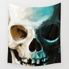 Skull 14 Wall Tapestry