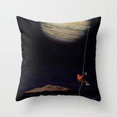 Jupiter Climber Throw Pillow