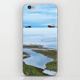 Setting Sea iPhone Skin