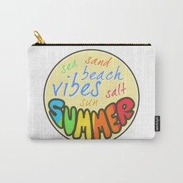 Summer Vibes, Beach sticker, summer sticker, summer t shirt Carry-All Pouch