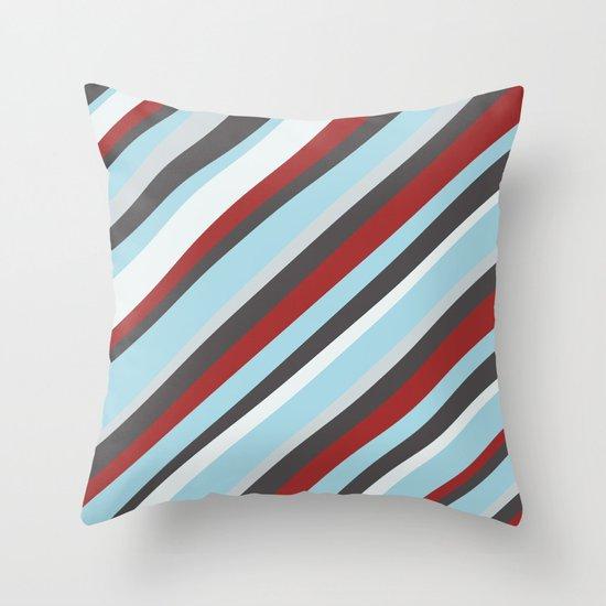 Diagonal : Pattern Throw Pillow