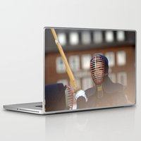 samurai Laptop & iPad Skins featuring Samurai by Premium