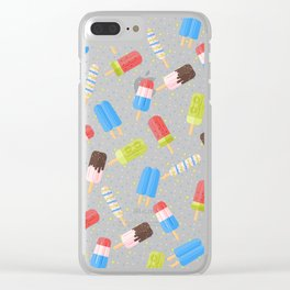 Popsicles Clear iPhone Case