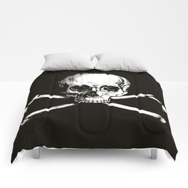 Skull and Crossbones | Jolly Roger Comforters