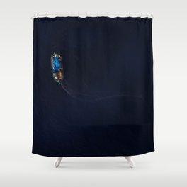 Maltese Fishing Boat (Luzzu)  Shower Curtain