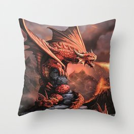 The Strongest Warrior Family Throw Pillow