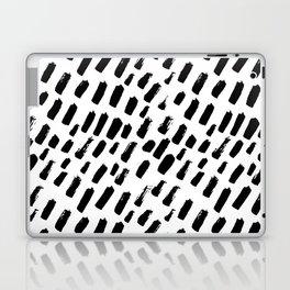 Dashing Darling - Black and White Laptop & iPad Skin